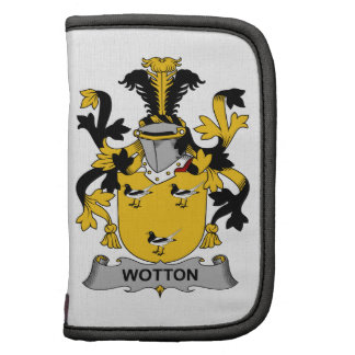 Escudo de la familia de Wotton Organizador