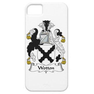 Escudo de la familia de Wotton iPhone 5 Case-Mate Fundas