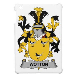 Escudo de la familia de Wotton iPad Mini Carcasa