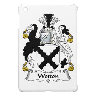 Escudo de la familia de Wotton iPad Mini Fundas