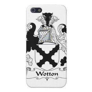 Escudo de la familia de Wotton iPhone 5 Cárcasa