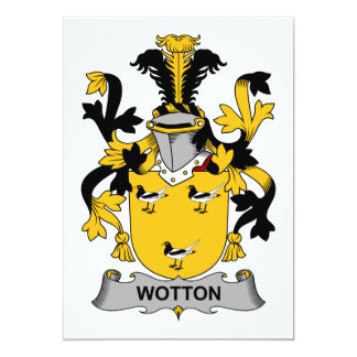 Escudo de la familia de Wotton Anuncio Personalizado