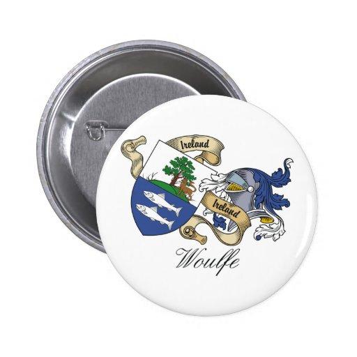 Escudo de la familia de Woulfe Pin