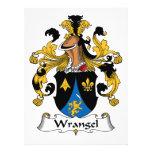 Escudo de la familia de Wrangel Invitacion Personal