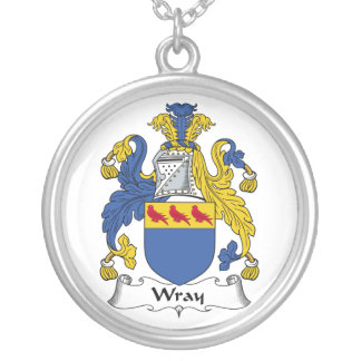 Escudo de la familia de Wray Colgante Redondo