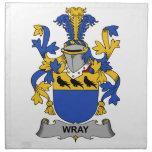 Escudo de la familia de Wray Servilleta