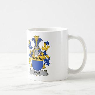 Escudo de la familia de Wray Taza De Café