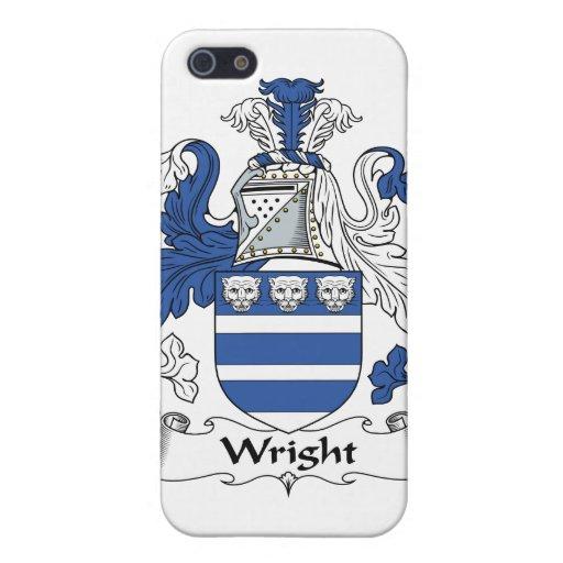 Escudo de la familia de Wright iPhone 5 Protector