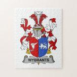 Escudo de la familia de Wybrants Rompecabeza