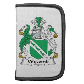 Escudo de la familia de Wycomb Planificador