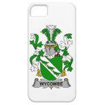 Escudo de la familia de Wycombe iPhone 5 Case-Mate Coberturas