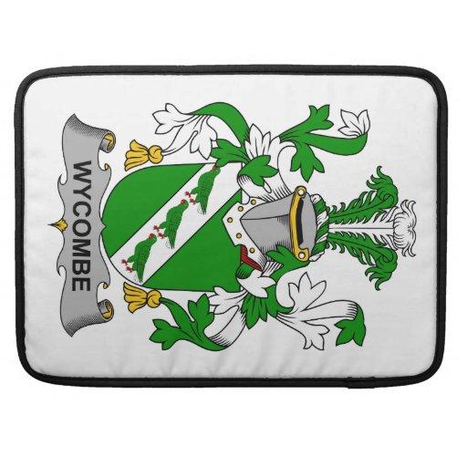 Escudo de la familia de Wycombe Funda Para Macbooks