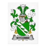 Escudo de la familia de Wycombe Anuncios Personalizados