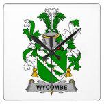 Escudo de la familia de Wycombe Relojes