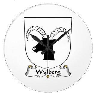 Escudo de la familia de Wylberg Reloj