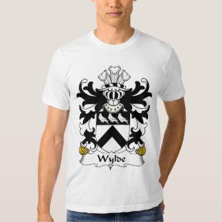Escudo de la familia de Wylde Playeras