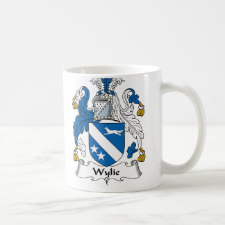 Escudo de la familia de Wylie Taza De Café