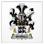 Escudo de la familia de Wyrrall Reloj