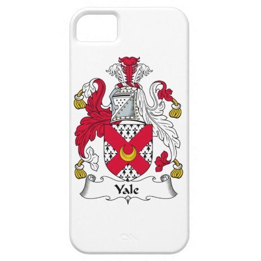 Escudo de la familia de Yale iPhone 5 Carcasa