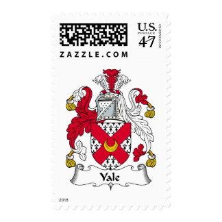 Escudo de la familia de Yale Timbre Postal