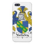 Escudo de la familia de Yardeley iPhone 5 Protectores