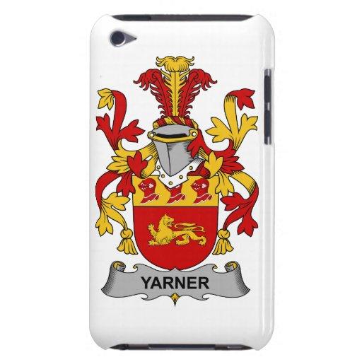 Escudo de la familia de Yarner Case-Mate iPod Touch Cárcasas