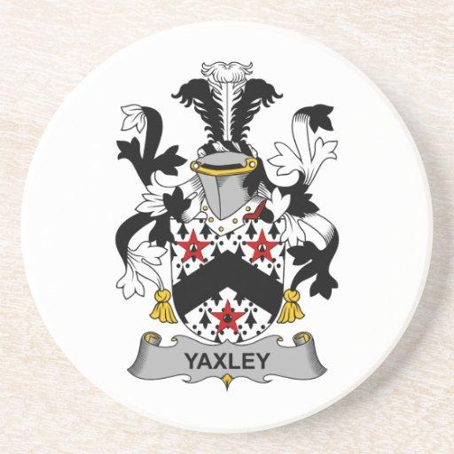 Escudo de la familia de Yaxley Posavasos Personalizados