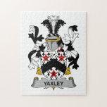 Escudo de la familia de Yaxley Puzzles Con Fotos