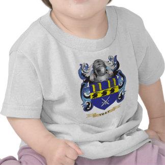 Escudo de la familia de Yeat escudo de armas Camiseta