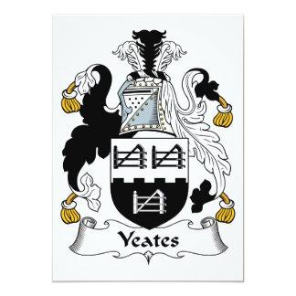 Escudo de la familia de Yeates