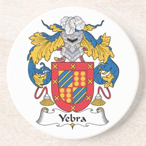 Escudo de la familia de Yebra Posavasos Diseño