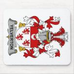 Escudo de la familia de Yelverton Tapetes De Ratones
