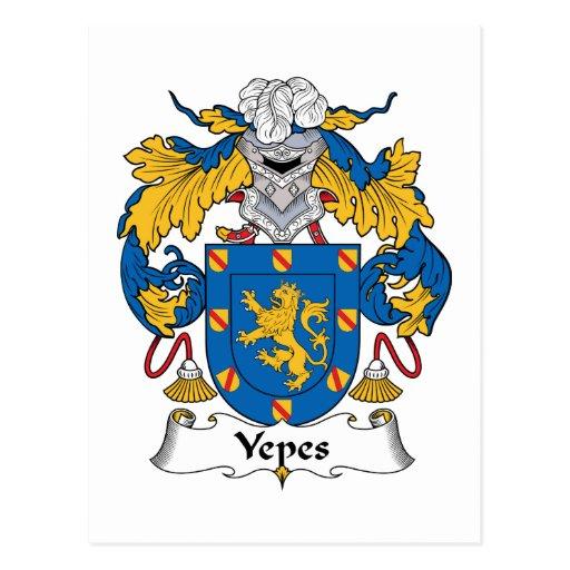 Escudo de la familia de Yepes Postales