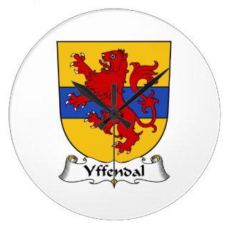 Escudo de la familia de Yffendal Relojes