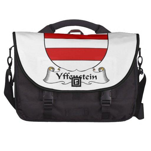 Escudo de la familia de Yffenstein Bolsas Para Portatil