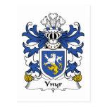 Escudo de la familia de Ynyr Postal