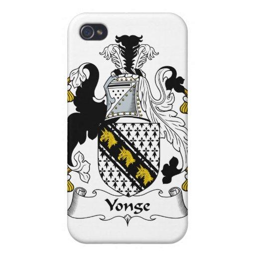 Escudo de la familia de Yonge iPhone 4 Cobertura