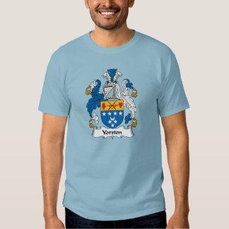 Escudo de la familia de Yorston Camisas