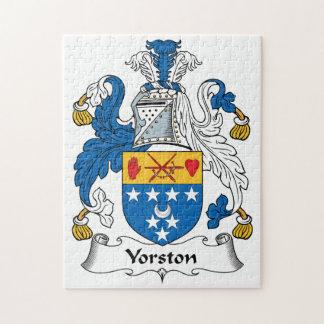 Escudo de la familia de Yorston Puzzle