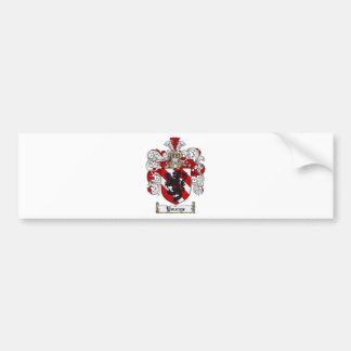 Escudo de la familia de Younge del escudo de armas Pegatina Para Auto