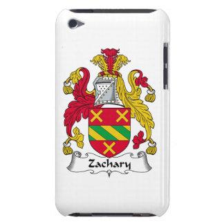 Escudo de la familia de Zacarias Barely There iPod Carcasas