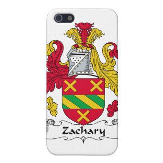 Escudo de la familia de Zacarias iPhone 5 Coberturas