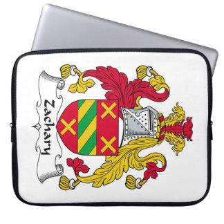 Escudo de la familia de Zacarias Funda Portátil