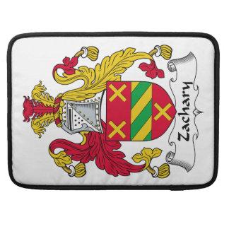 Escudo de la familia de Zacarias Fundas Para Macbooks