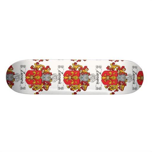 Escudo de la familia de Zaccaria Tabla De Patinar