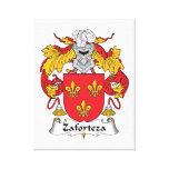 Escudo de la familia de Zaforteza Impresion De Lienzo