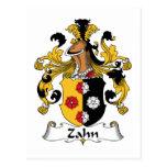 Escudo de la familia de Zahn Postal