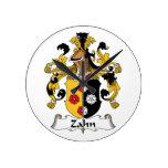 Escudo de la familia de Zahn Relojes