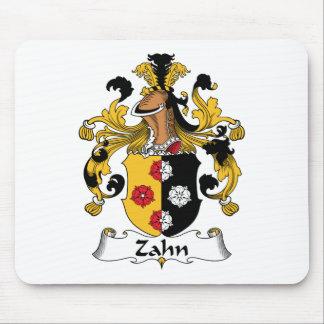 Escudo de la familia de Zahn Tapetes De Ratón