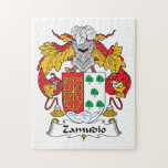 Escudo de la familia de Zamudio Rompecabeza Con Fotos